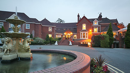 Hotel Escape with Dinner for Two at Mercure Bewdley The Heath Hotel