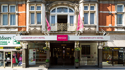 Hotel Escape with Dinner for Two at Mercure Leicester The Grand Hotel