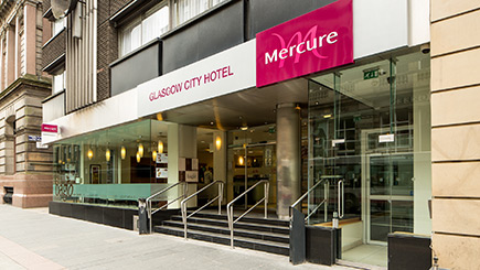 Hotel Escape for Two at Mercure Glasgow City Hotel