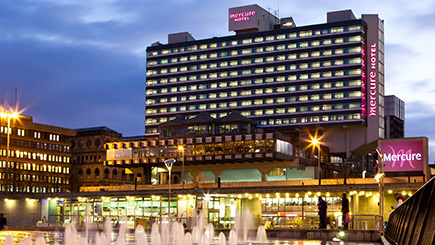 Hotel Escape for Two at Mercure Manchester Piccadilly Hotel