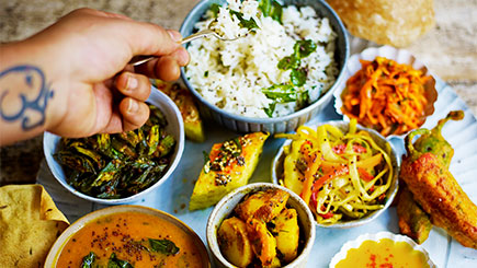 North Indian Thali Cookery Course at The Jamie Oliver Cookery School