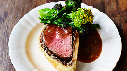 Beef Wellington Cooking Class at The Jamie Oliver Cookery School
