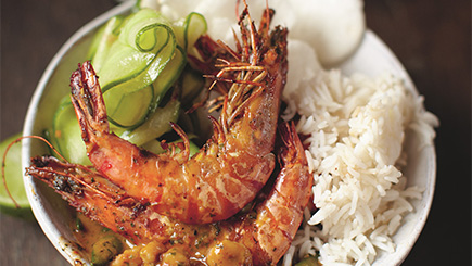 Indian Prawn Curry Cookery Class for Two at The Jamie Oliver Cookery School