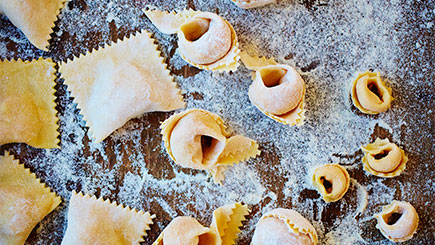 Filled Pasta Cookery Course for Two at The Jamie Oliver Cookery School