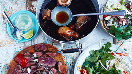 Vietnamese Street Food Cookery Class for Two at The Jamie Oliver Cookery School