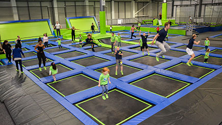 Two Hour Anytime Jump Session For Four At Selected Locations