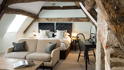 Country House Escape with Dinner for Two at The Kings Head Hotel, Cirencester