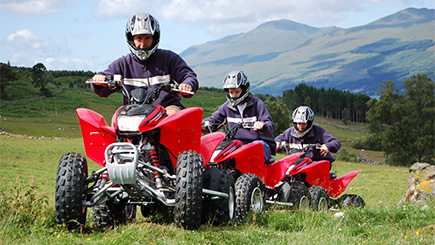 Quad Biking Adventure in Perthshire