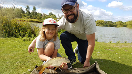 Beginners' Coarse Fishing Lesson for Two