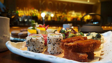 Japanese Champagne Afternoon Tea for Two at Kouzu, London