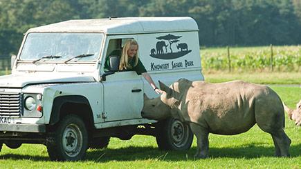 Rhino Encounter at Knowsley Safari Park