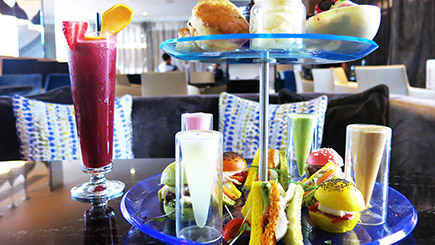 Glam Rock Tea with Prosecco for Two at K West Hotel and Spa