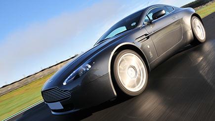 Aston Martin Driving In Scotland
