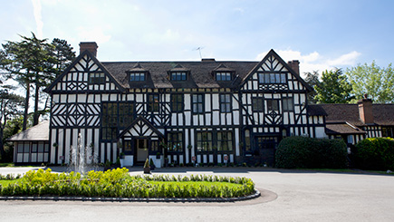 Champagne Afternoon Tea for Two at The Manor Elstree