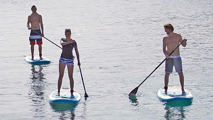 Stand Up Paddleboarding for Two in Warwickshire
