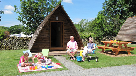 Two Night Glamping Break For Two in Cumbria