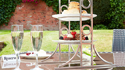 Champagne Afternoon Tea for Two at The Belfry, West Midlands