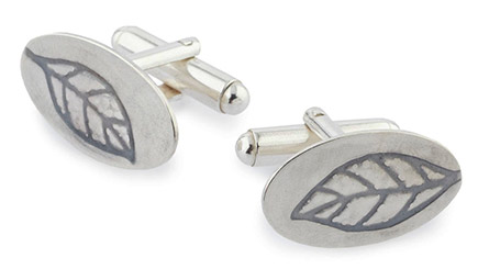 Make a Pair of Silver Cufflinks in London