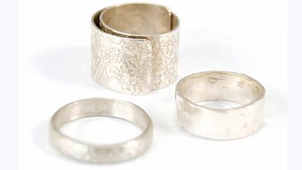 Beginners Silver Jewellery Class in London