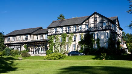 Country House Escape for Two at The Lake Country House Hotel, Powys