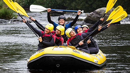 White Water Rafting For Two In Denbighshire, North Wales
