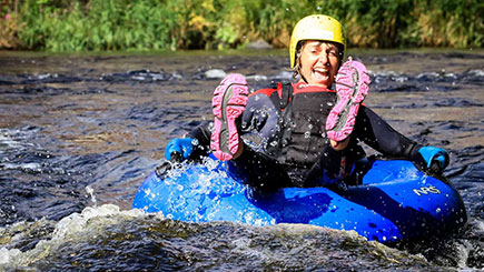 White Water Tubing In Denbighshire  North Wales