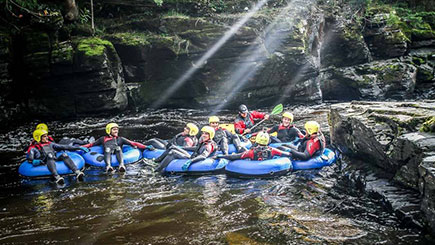 White Water Tubing For Two In Denbighshire  North Wales
