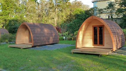 One Night Family Camping Pod Break in Devon
