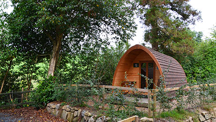Two Night Camping Pod Break for Two at the Langstone Manor Holiday Park in Devon