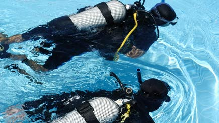 Scuba Diving For Two In Ipswich