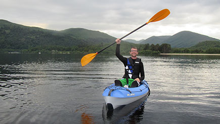 Kayaking in Loch Lomond