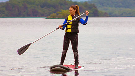 Stand Up Paddleboarding in Loch Lomond