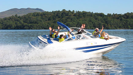 60 Minute Luxury Boat Tour of Loch Lomond for Two