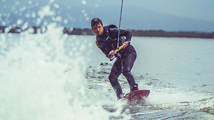 Wakeboarding For One On Loch Lomond