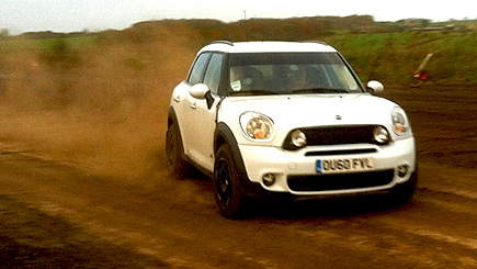 Mini Countryman Rally Driving