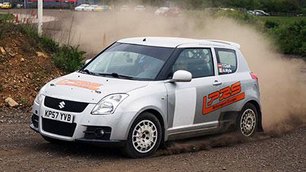 Suzuki Swift Rally Driving