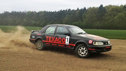 Extended Sierra Cosworth Rally Driving