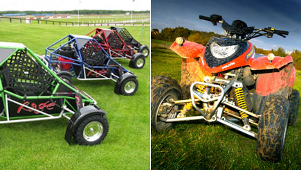 Quad Bike and Off-Road Buggy Driving