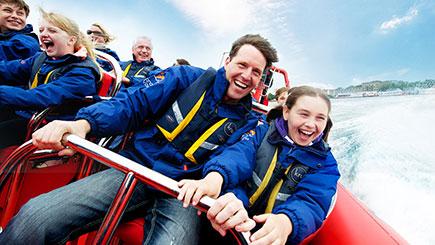 Family Thames Rocket Powerboating  London