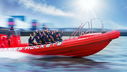 Thames Rockets Powerboating for Two