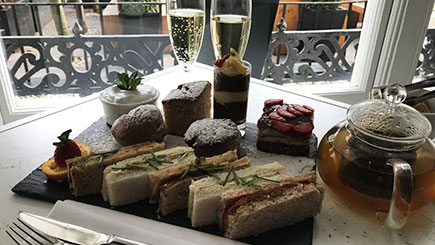 Vegan Afternoon Tea with Fizz for Two at La Suite West, Hyde Park