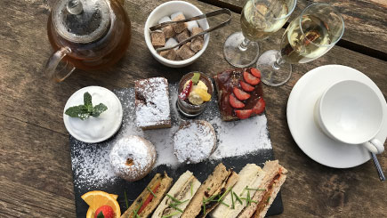 Vegan Afternoon Tea for Two at La Suite West, Hyde Park