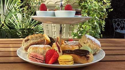 Celebration Afternoon Tea for Two at Langtry Manor