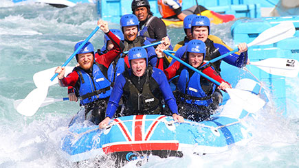 White Water Raft Adventure for Two at Lee Valley White Water Centre