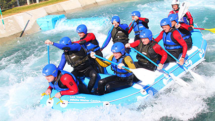 White Water Raft Adventure at Lee Valley White Water Centre