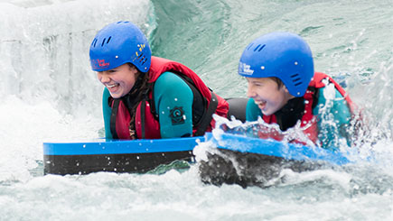 Hydrospeeding for Two at Lee Valley White Water Centre