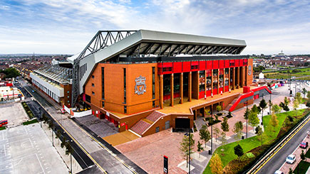 Liverpool FC Anfield Stadium Tour for Two Adults