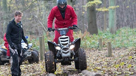 Quad Safari for Two at Hazlewood Castle