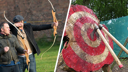 Archery and Axe Throwing for Two at Hazlewood Castle, North Yorkshire