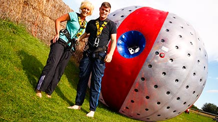 Harness Zorbing in Cheshire